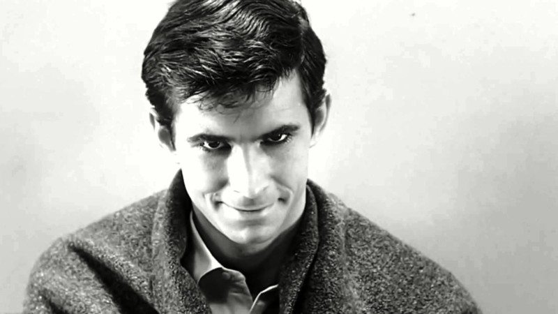 Anthony Perkins as Norman Bates.