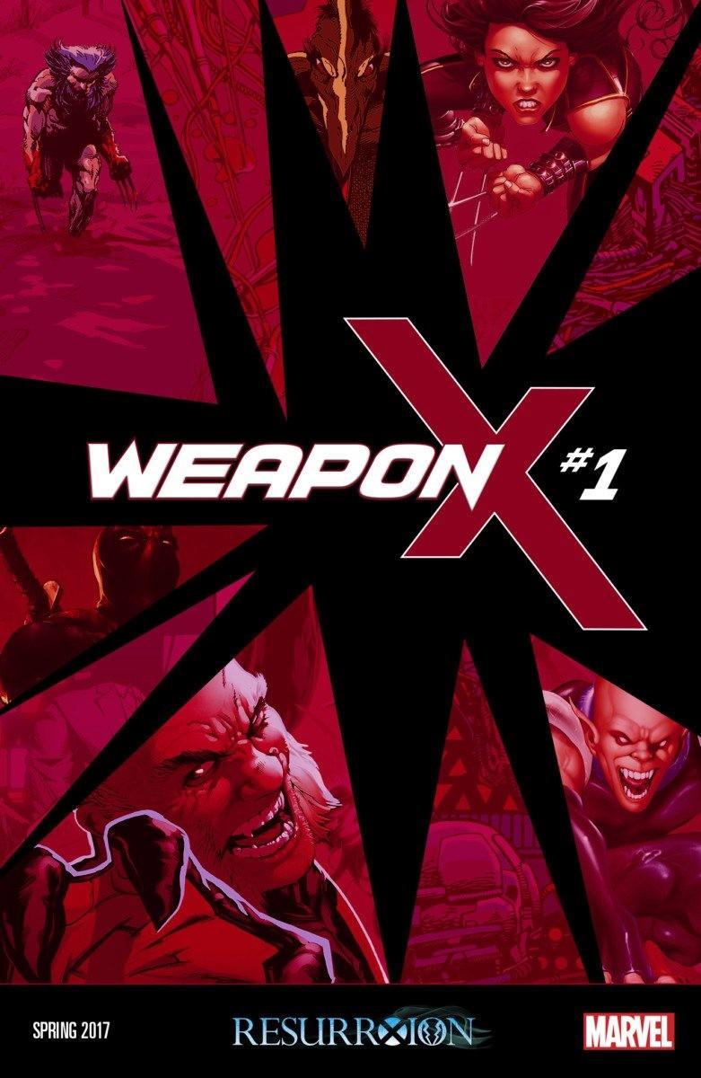 x-men comics: WEAPON X #1 Wolverine