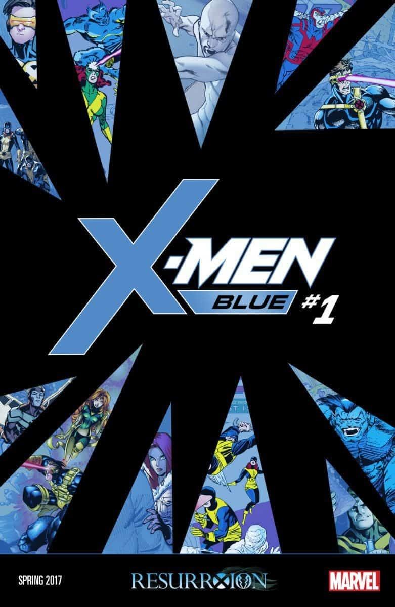 x-men comics: X-Men Blue #1 X-Men Blue Team