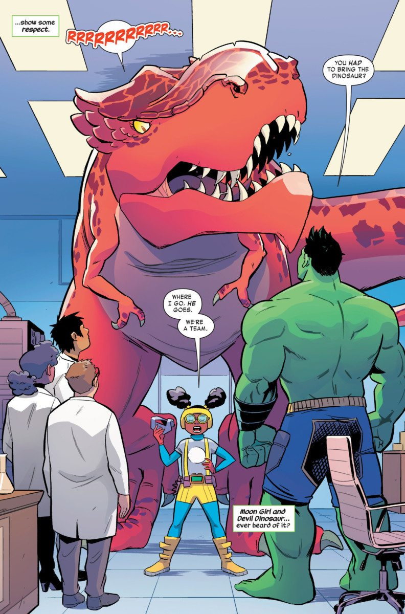 Moon Girl and Devil Dinosaur #13