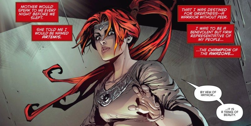 red hood and the outlaws ARTEMIS