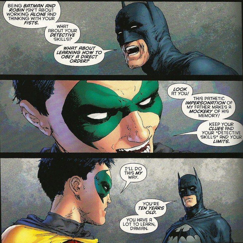 Damian Wayne: Leader or Tyrant