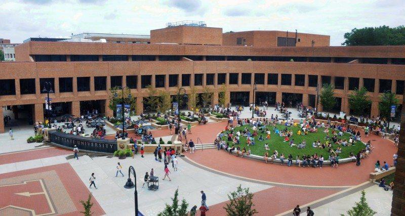 Kent State University, Risman Plaza