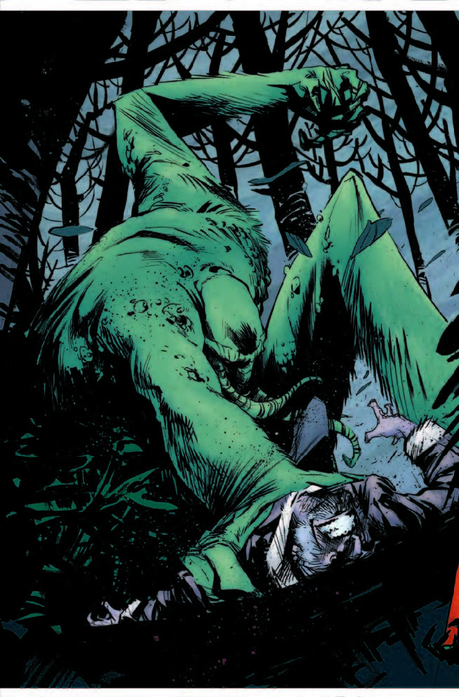 OLD MAN LOGAN #14 Review: Monster War