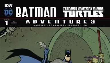 BATMAN/TMNT ADVENTURES #1 cover 2
