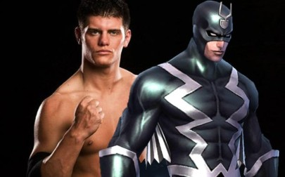 Cody Rhodes aka Stardust compared to Black Bolt.