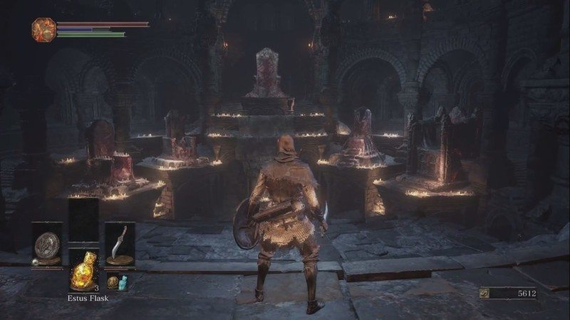 Dark Souls III - Firelink Shrine