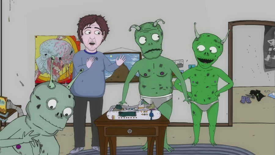 Jeff and Some Aliens