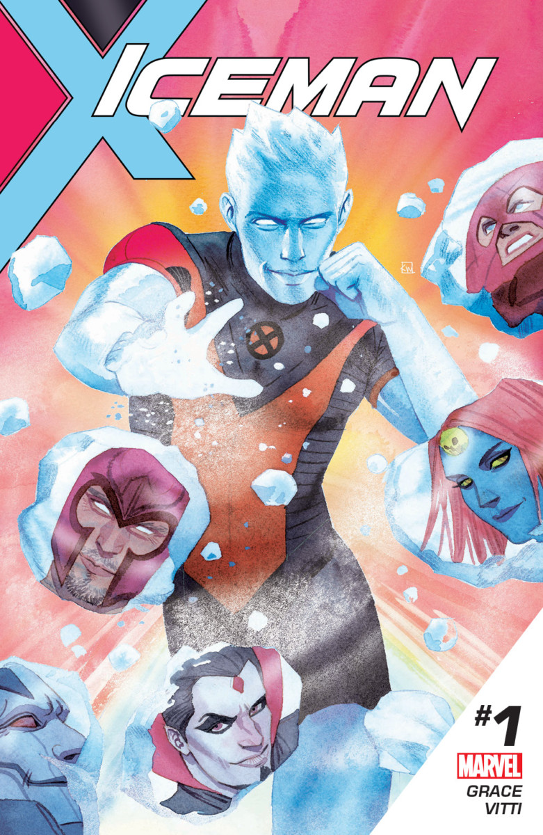 Sina Grace talks about making Iceman gay!