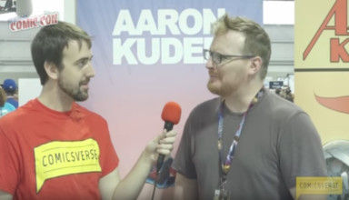 AARON KUDER INTERVIEW NYCC 2016