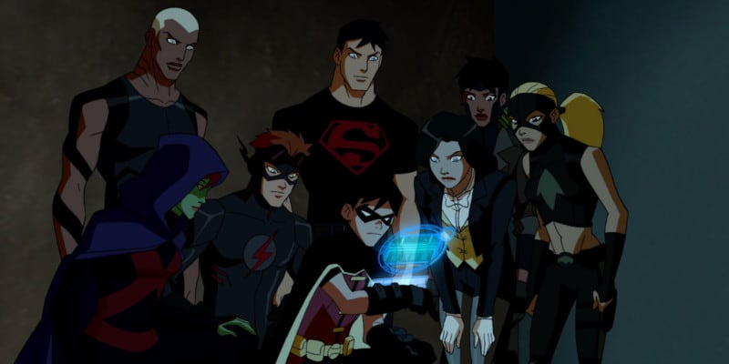 Young Justice image still from television show.