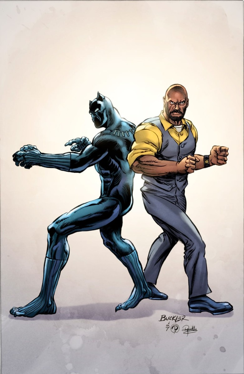 BLACK PANTHER & THE CREW #1 variant cover #2