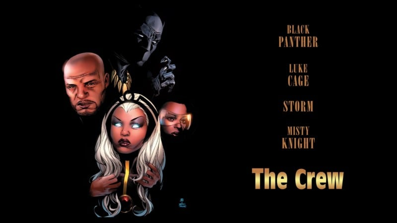BLACK PANTHER & THE CREW #1 featured