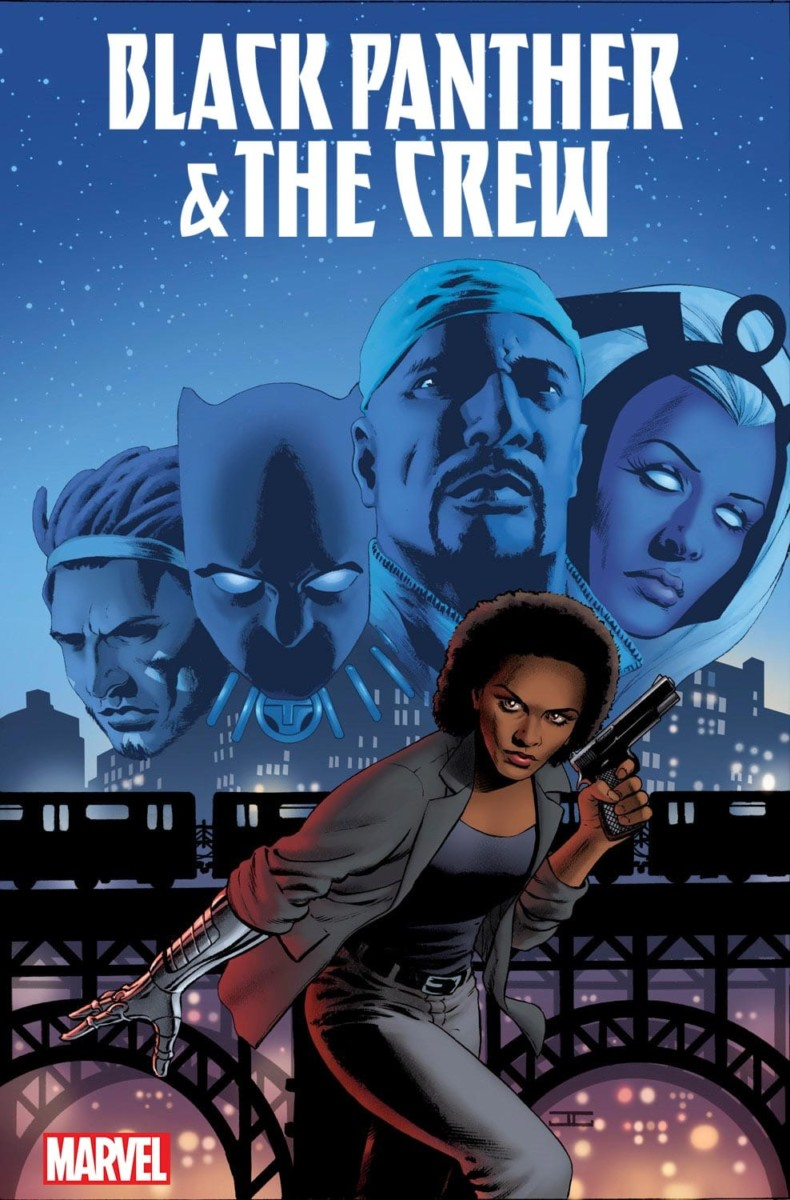 BLACK PANTHER & THE CREW #1 cover