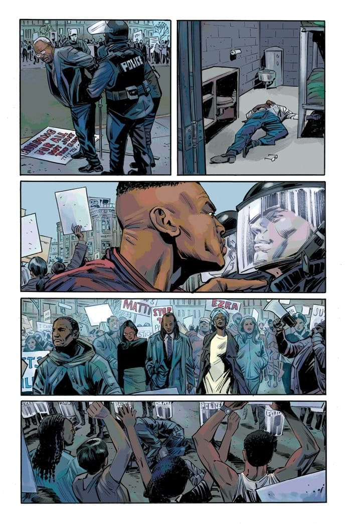 BLACK PANTHER & THE CREW #1 preview page 2