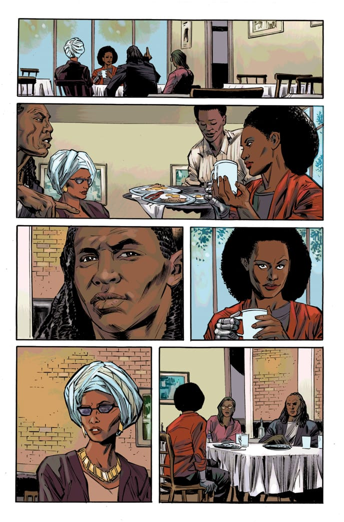 BLACK PANTHER & THE CREW #1 preview page 3