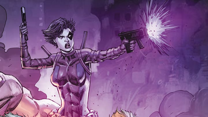 Domino Weapon X #1 Liefeld Variant cover