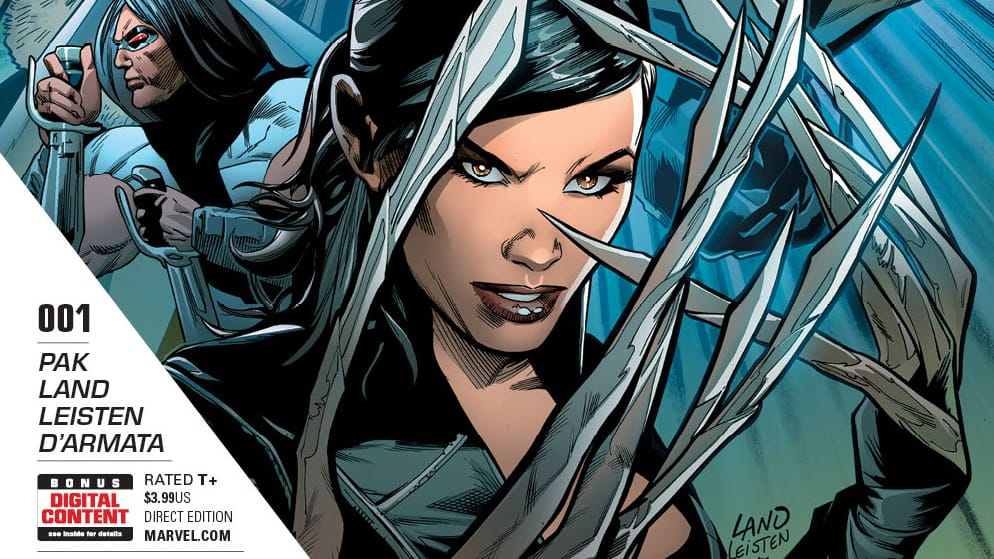 Lady Deathstrike Weapon X 1 Cover