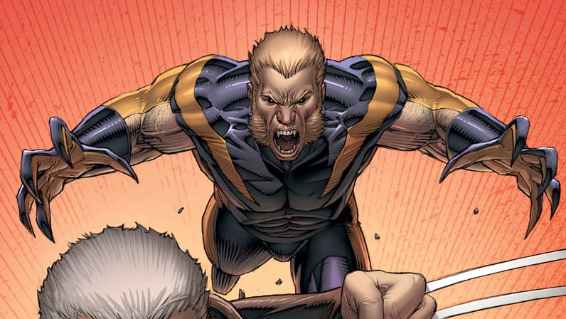 Sabretooth - Weapon X #1 Keown Variant Cover