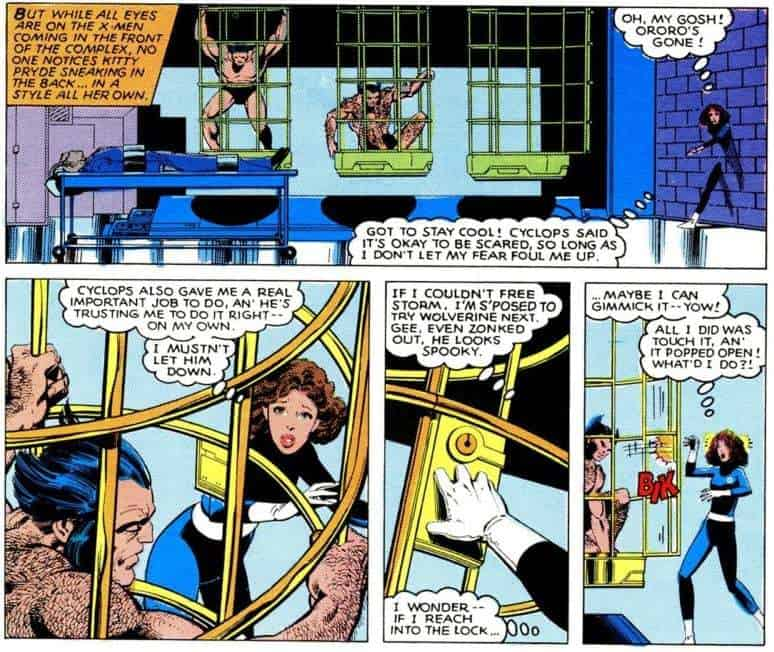 Kitty Pryde saves the X-Men in