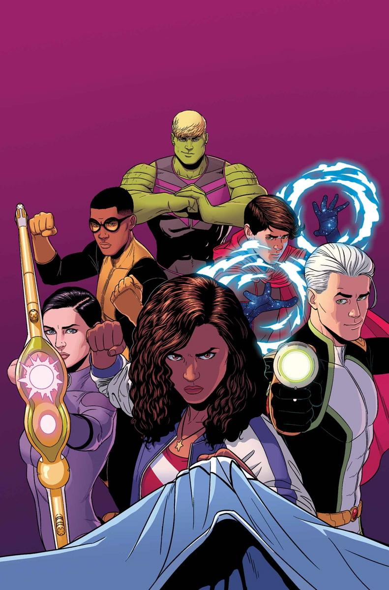Are the Young Avengers Marvel's answer to their version of Young Justice?