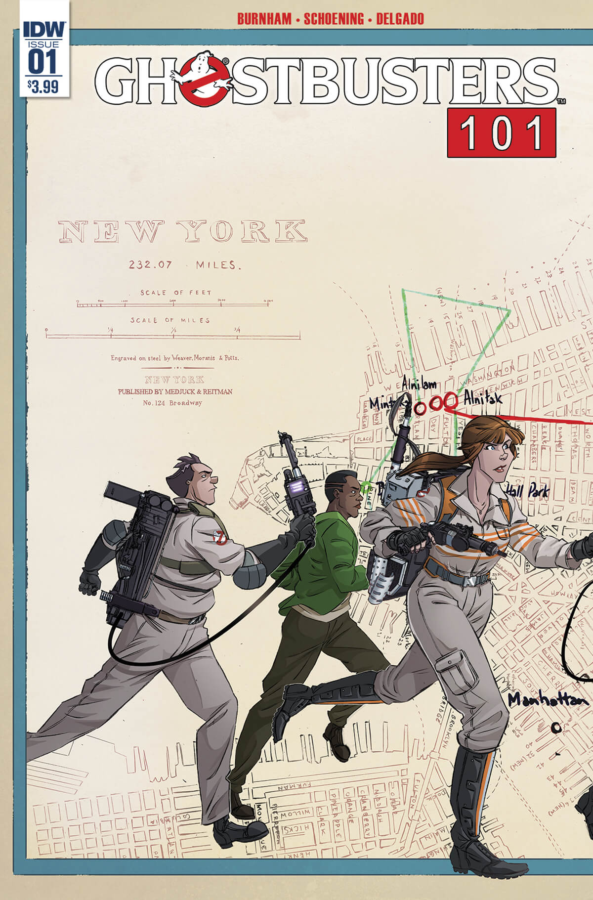 GHOSTBUSTERS 101 - ALT COVER