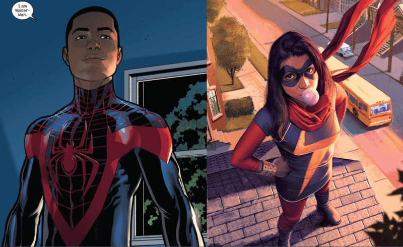 Miles Morales and Kamala Khan as Ms. Marvel are ripe to star in Marvel's version of Young Justice.