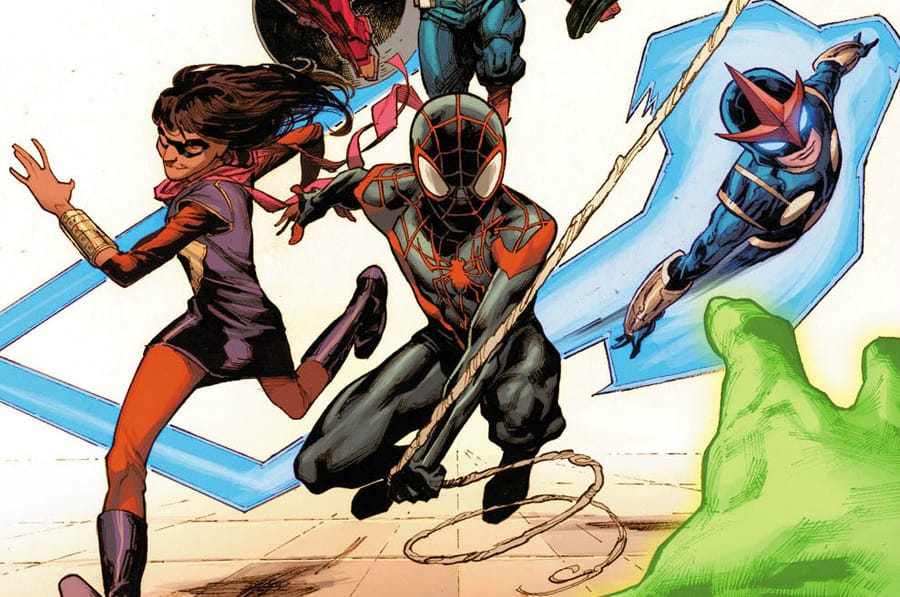 Miles Morales would be perfect on a Marvel version of YOUNG JUSTICE.