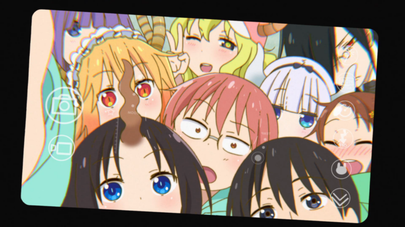 Miss Kobayashi's Dragon Maid Group Photo