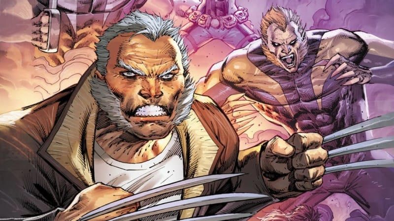 Old Man Logan from Weapon X Liefeld Variant cover