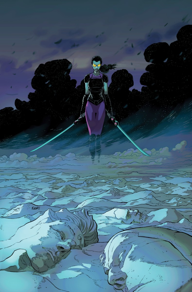 ALL-NEW GUARDIANS OF THE GALAXY #1 with art by Aaron Kuder