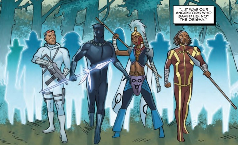 Black Panther #13 The Wakandan Forest