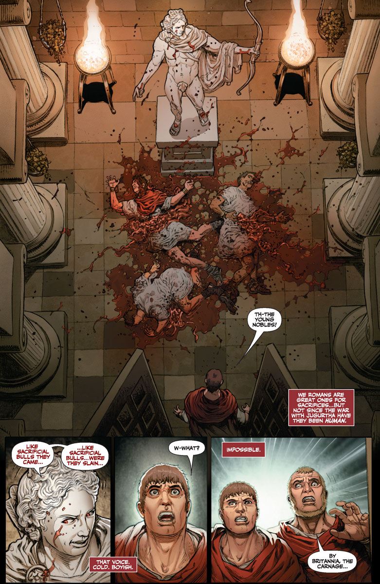 BRITANNIA: WE WHO ARE ABOUT TO DIE #1