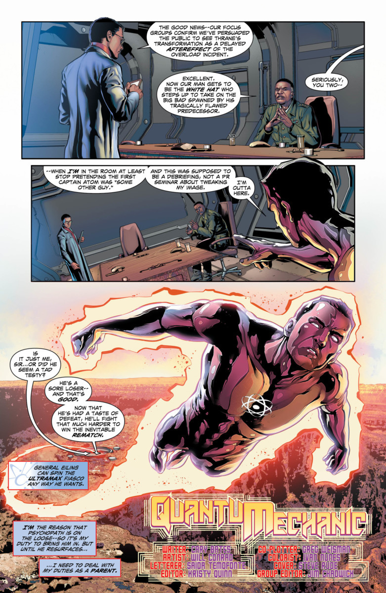 THE FALL AND RISE OF CAPTAIN ATOM #5