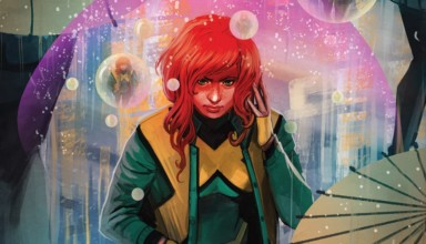 JEAN GREY #1 cover with art by Stephanie Hans.
