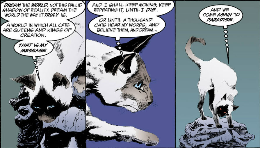 Sandman: Dream Country Cats
