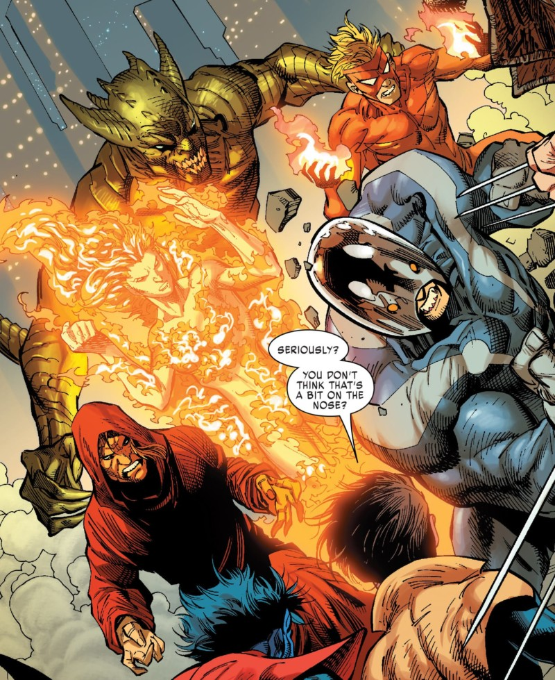 The newly reformed Brotherhood of Evil Mutants in X-MEN: GOLD #2.
