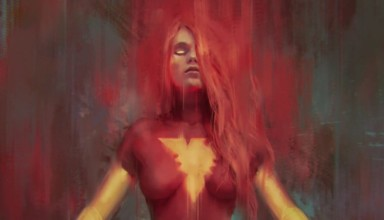 Jean Grey as the Dark Phoenix in the Dark Phoenix Saga written by Chris Claremont. Image courtesy of Frankie Perez.