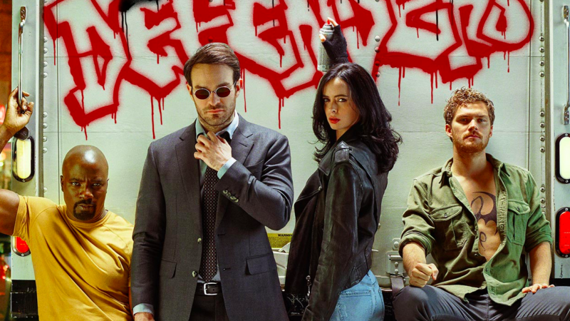 Image from THE DEFENDERS trailer.