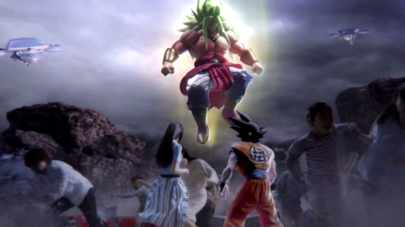 F - God Broly Goku - Dragon Ball Z - The Real 4D
