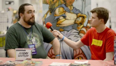 Jeremy Whitley interview at Tidewater Comicon 2017