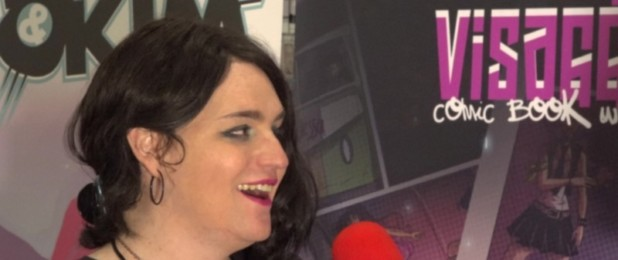"""Magdalene Visaggio """"Mags Visaggio"""" interview at Five Points Festival NYC 2017."""