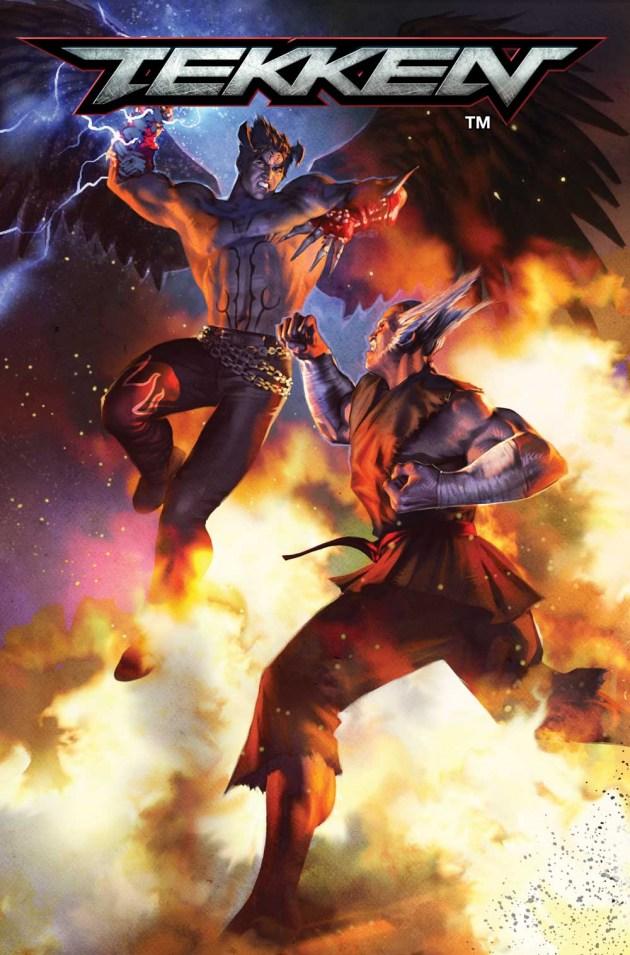 Tekken comic Cavan Scott