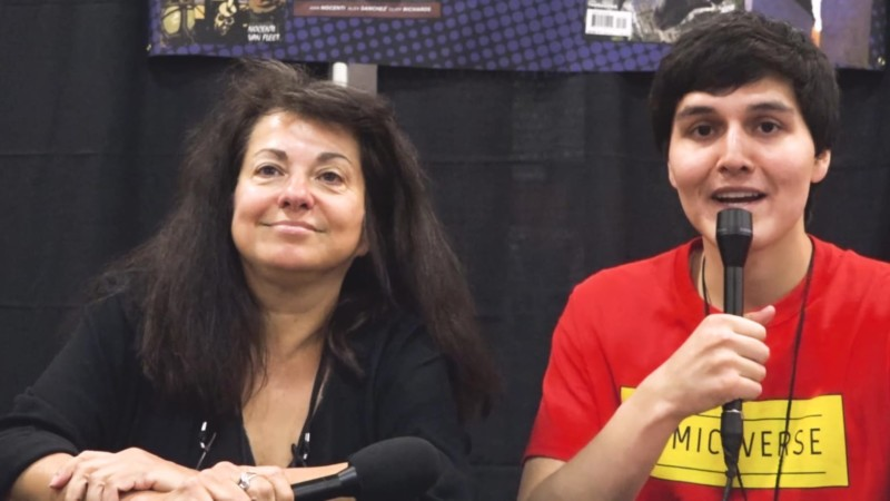 Ann Nocenti interview at East Coast Comic Con 2017