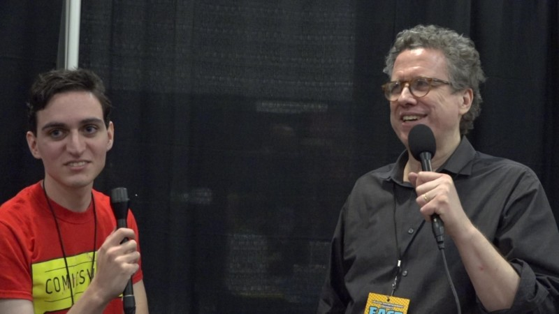 Danny Fingeroth interview at East Coast Comic Con