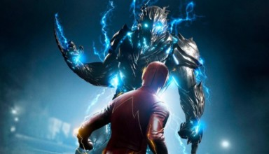 The Flash vs. Savitar Season 3 CW Poster