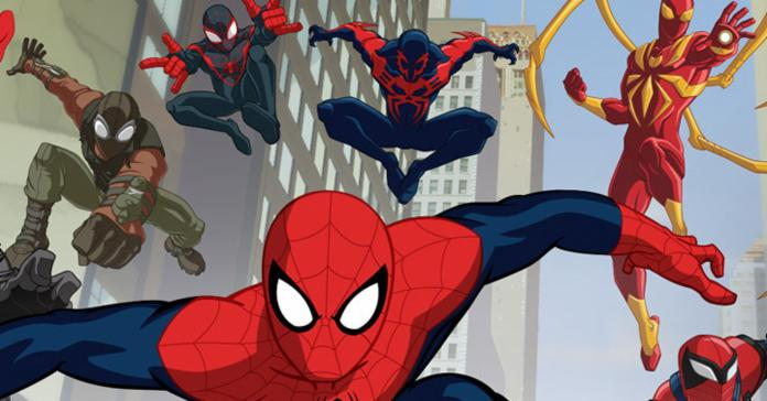 Different versions of Spider-Man in ULTIMATE SPIDER-MAN