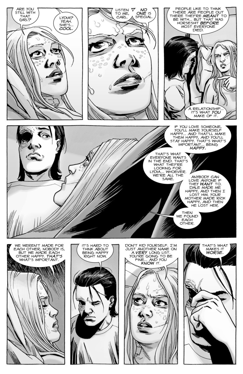 Image from THE WALKING DEAD #167, courtesy of Image