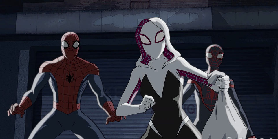 Spider-Man team up in ULTIMATE SPIDER-MAN