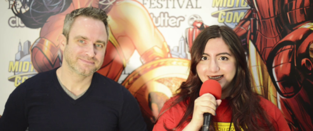 ComicsVerse Nick Spencer Interview at 5 Points Festival NYC